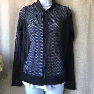 Victoria's Secret Sport mesh jacket. Size S